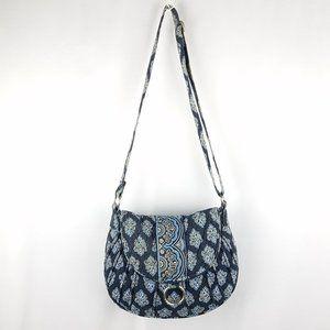 Vera Bradley bag blue on blue cross body